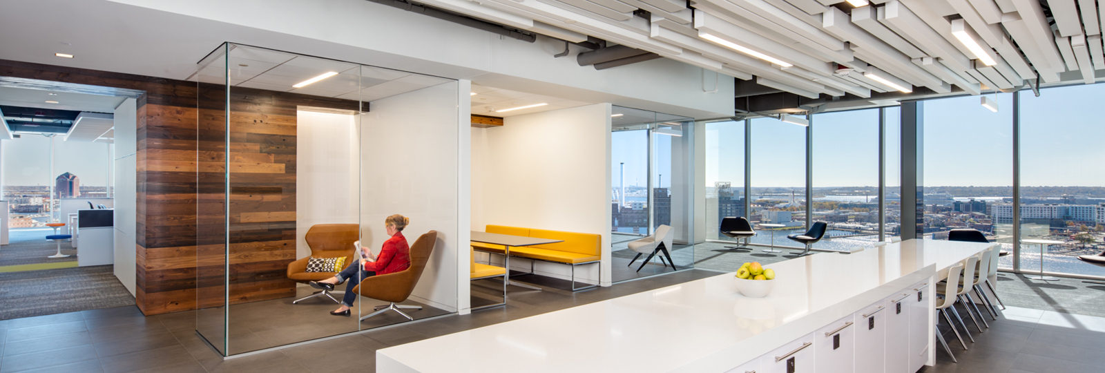 Gilmore Lighting Design creates LEED Platinum certification for Exelon's new headquarters
