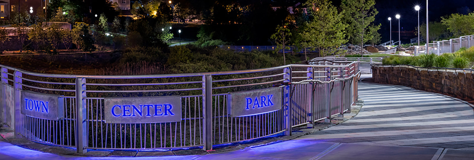 Gilmore Lighting Design project for Germantown Town Park