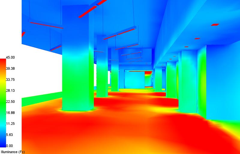 Photometric calculations gilmore lighting design