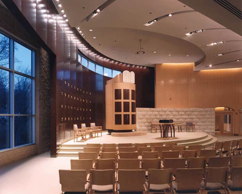 b 39 nai tzedek synagogue gilmore lighting design