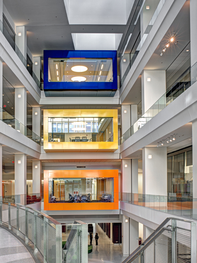Gilmore Lighting Design Received Two Ies Section Awards For Nih Porter Neuroscience Research Center Phase Ii And Eagle Academy Public Charter School